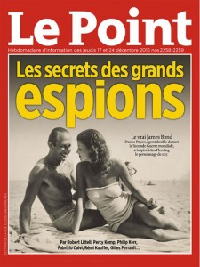 Couverture du magazine Le Point, 17 Décembre 2015